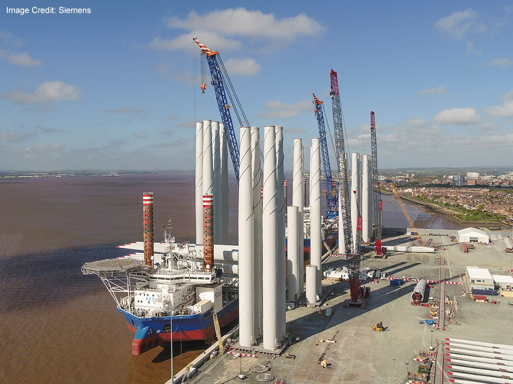 stevedoring and terminal operations, offshore wind logistics, industrial packaging